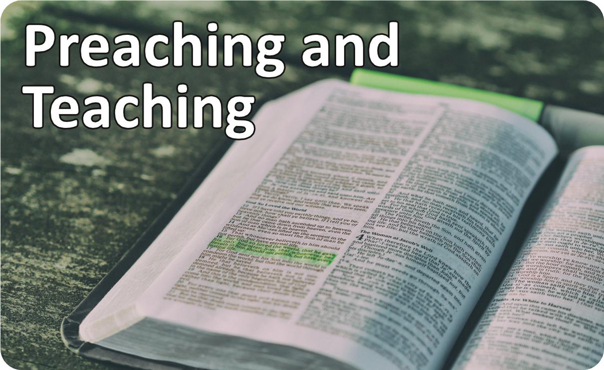 Preaching and Teaching
